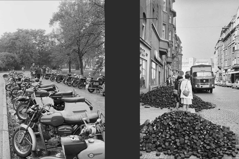 PARKING MOTOS ET RUE DE BAUTZEN