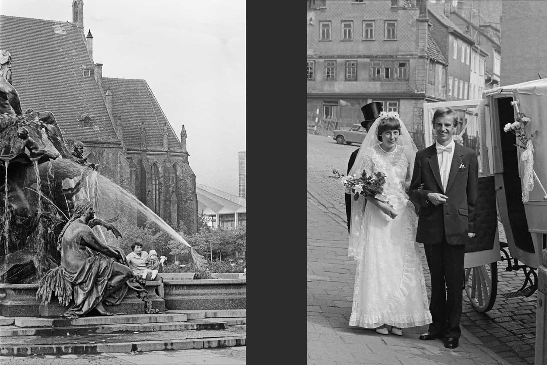 FONTAINE DEVANT L'ÈGLISE SAINTE MARIE DE BERLIN + MARIAGE TRADITIONEL