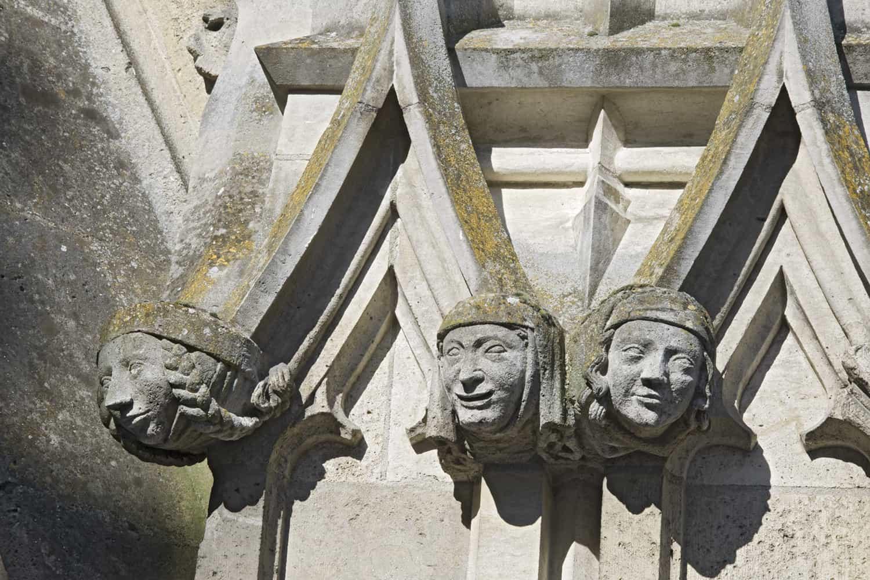 Cathédrale de Reims parties hautes