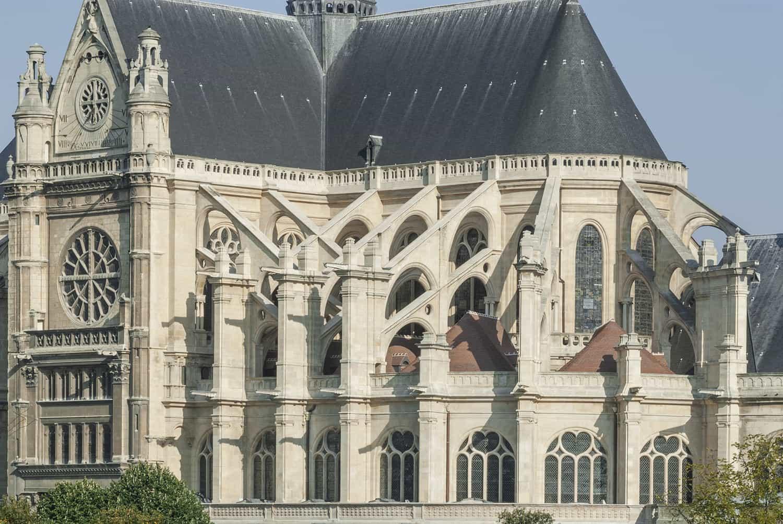L'église Saint-Eustache à Paris, restaurée pour partie par Alain-Charles Perrot