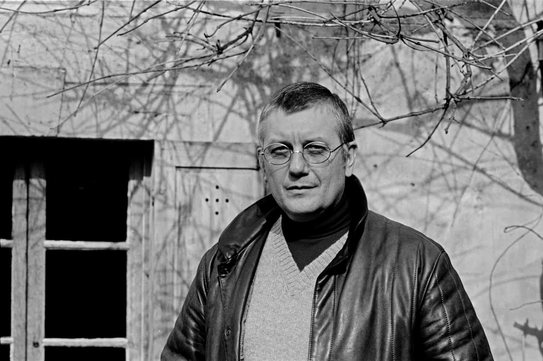 Reportage noir et blanc en 1980 chez Jean Vautrin